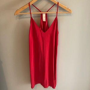 Amanda Uprichard silk red dress